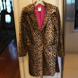 ABS Allen Schwartz leopard coat